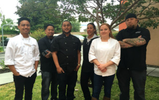 Chefs helping Justin's House Summer Camp 2016